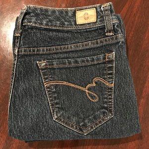 Bandolino Mandie Dark Rinse Straight Leg Jeans